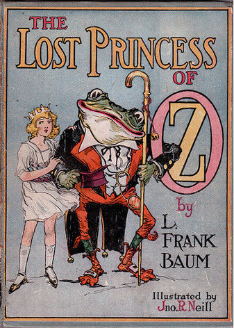 The Lost Princess of Oz Cover