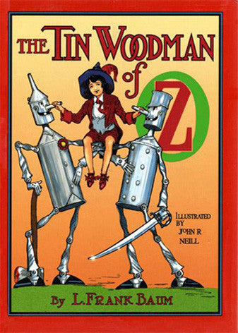 The Tin Woodman of Oz Cover