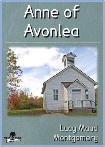 Anne of Avonlea Cover