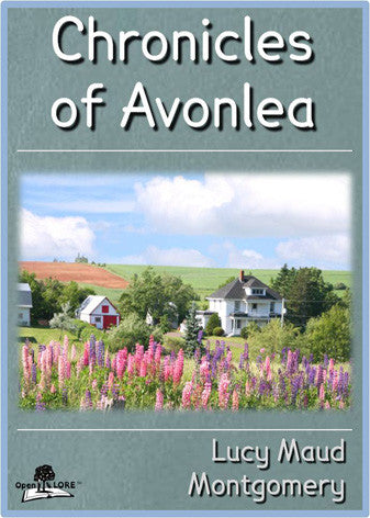 Chronicles of Avonlea Cover