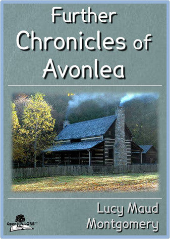 Further Chronicles of Avonlea Cover