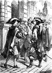 The Three Musketeers Illustration