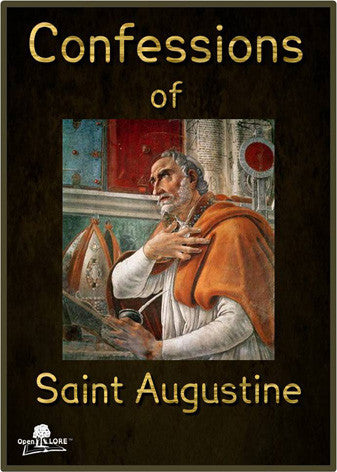 Confessions of Saint Augustine Cover