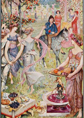 The Lilac Fairy Book Illustration