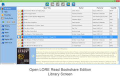 Open LORE™ Read Bookshare Edition