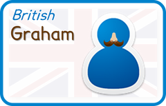 Graham (British English)