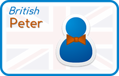 Peter (British English)