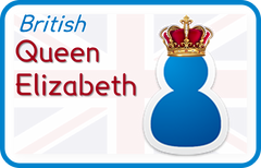 Queen Elizabeth (British English)