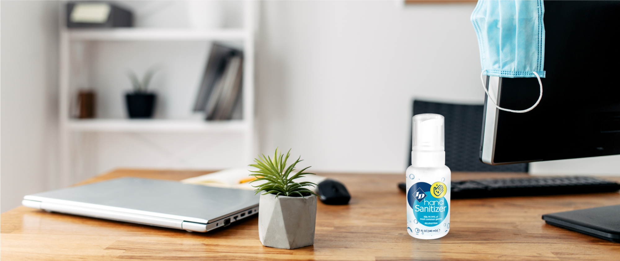 hand sanitizer for business, work, alcohol free