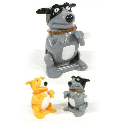 Wind Up Flipping Dog - Assorted