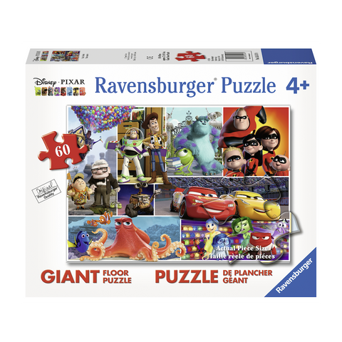 R - Pixar Friends - 60pc (05547)