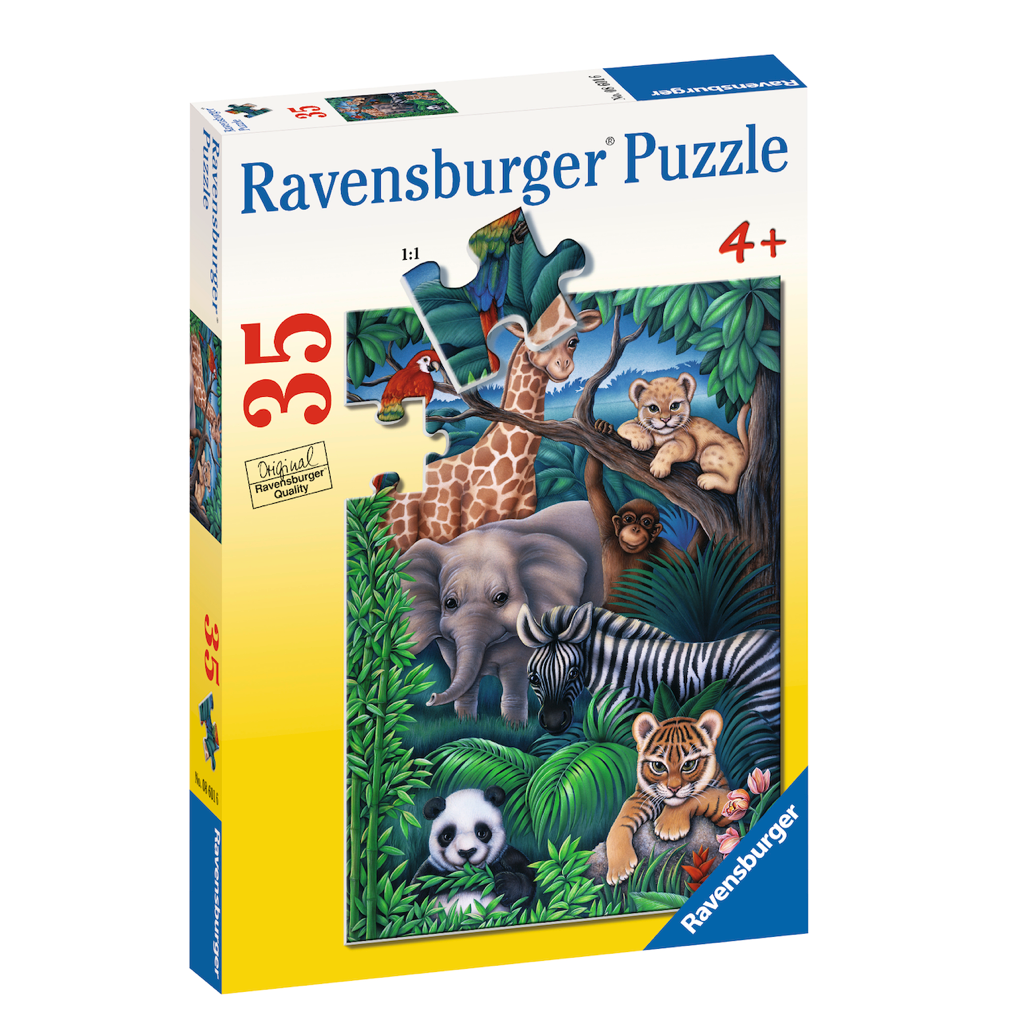 R - Animal Kingdom - 35pc (08601)
