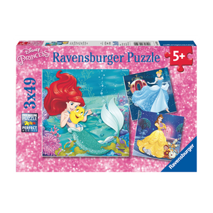 R - Princesses Adventure (Disney) - 3x49pc (09350)