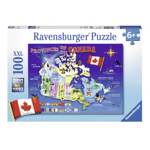 R - Map of Canada - 100pc (10569)