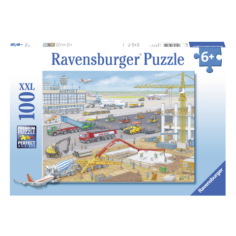 R - Construction at the Airport - 100pc (10624)