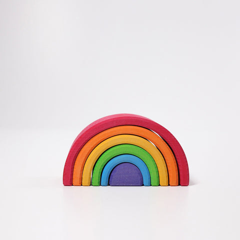 Medium Rainbow, Multi-Coloured 6pc (10700)