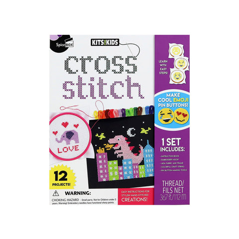 Kits for Kids: Cross Stitch