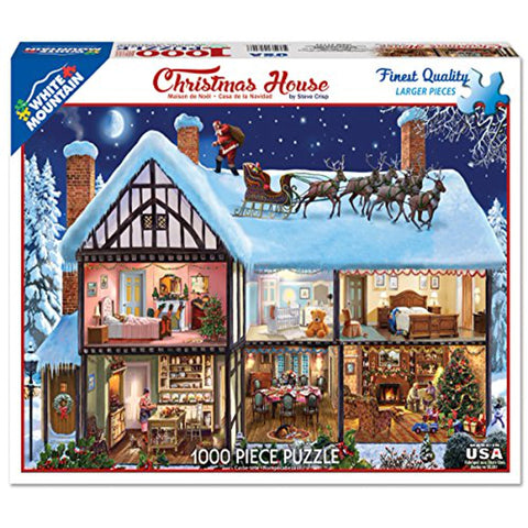 WM - Christmas House - 1000pc (1177PZ)