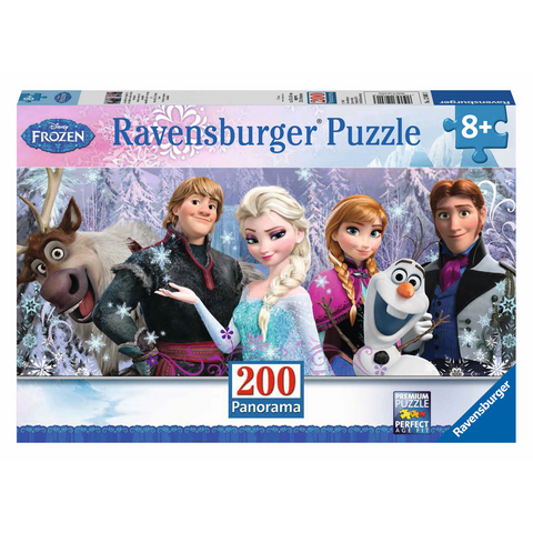 R - Frozen Friends (Disney) - 200pc (Panorama) (12801)