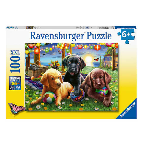 R - Puppy Picnic - 100pc (12886)
