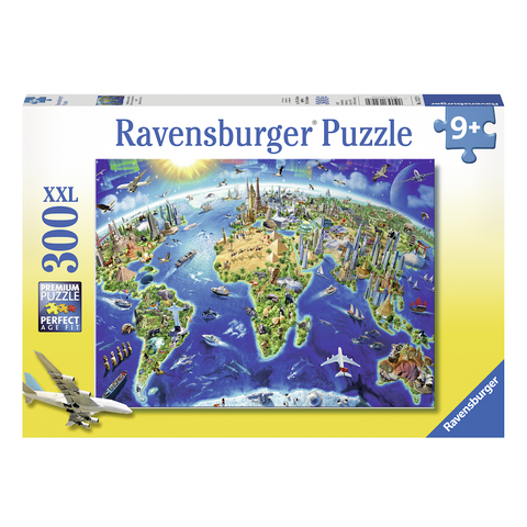 R - World Landmarks Map - 300pc (13227)