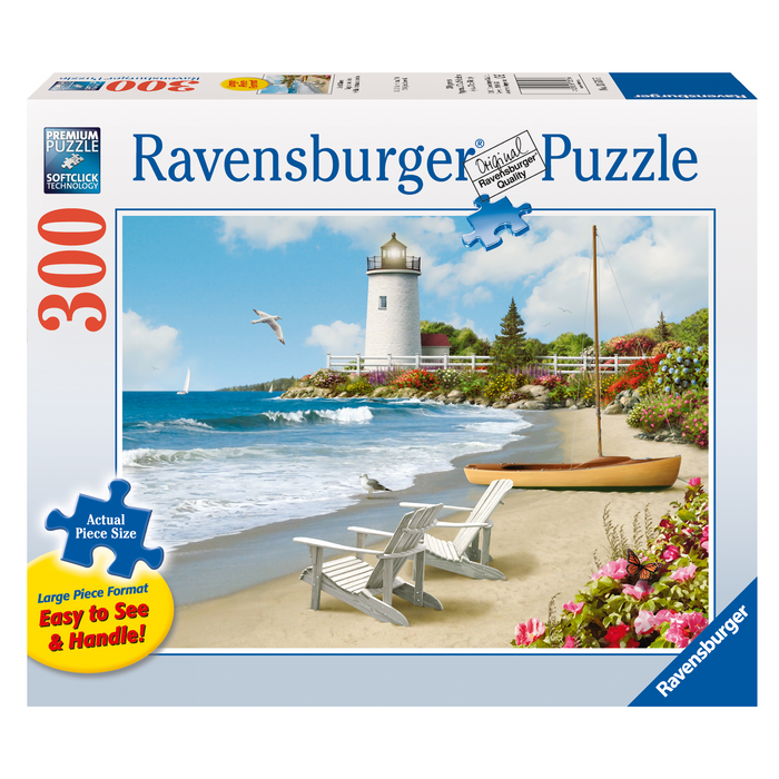 R - Sunlit Shores 300pc (Large Format) (13535)