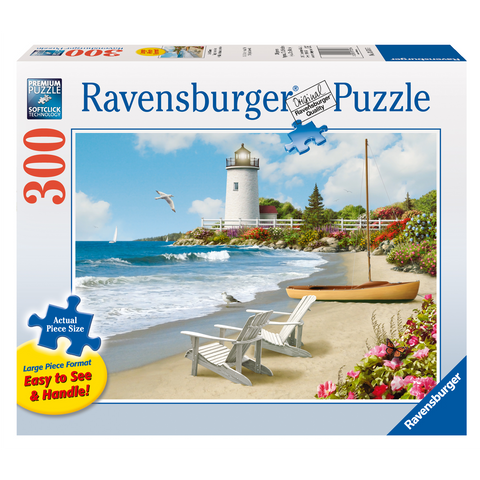 R - Sunlit Shores - 300pc (Large Format) (13535)