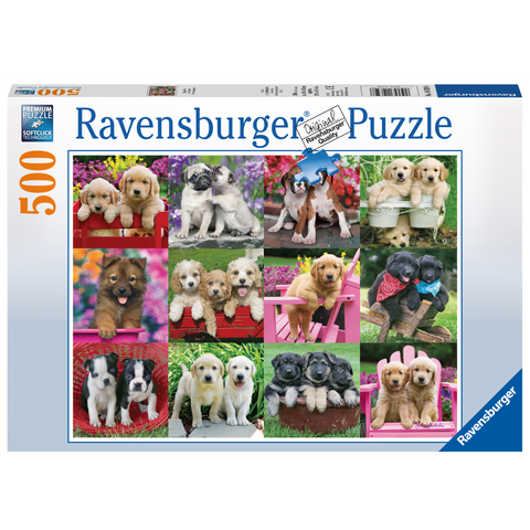 R - Puppy Pals - 500pc (14659)
