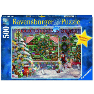 R - The Christmas Shoppe - 500pc (16534)