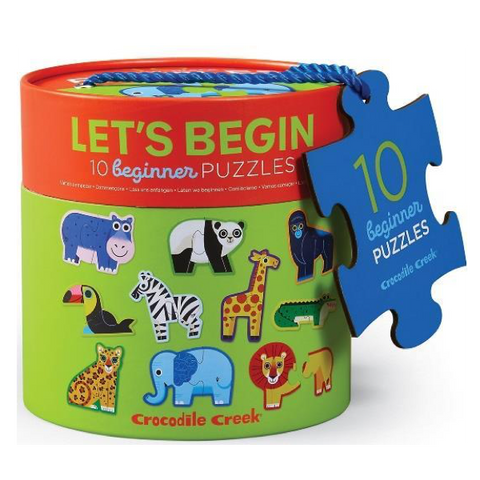 CC - Let's Begin 2pc Puzzles - Jungle