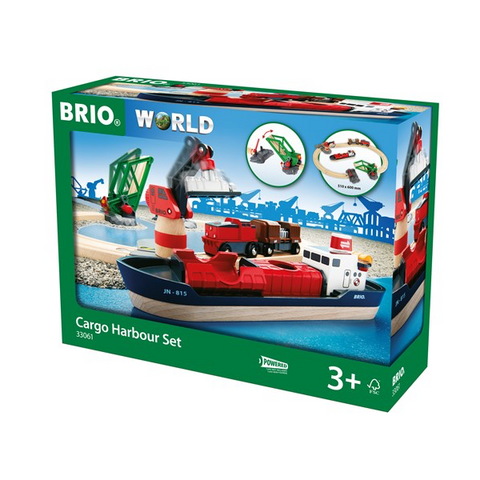 Brio Cargo Harbour Set (33061)
