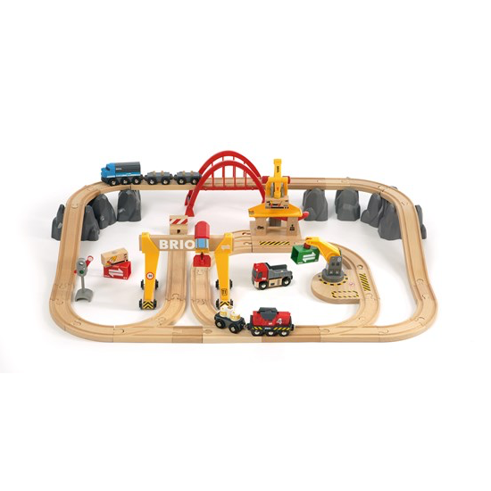 Brio RW Train Set Mid Size (33097)