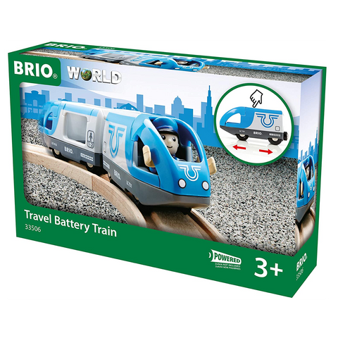 Brio Travel Battery Train Set (33506)
