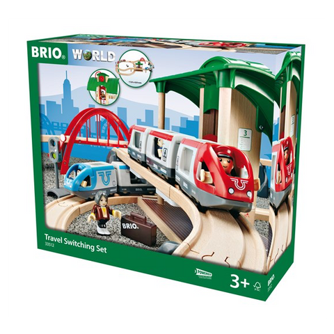 Brio Travel Switching Set (33512)