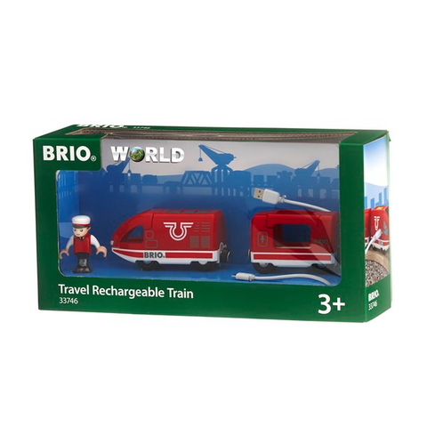 Brio Travel Rechargeable Train (33746)