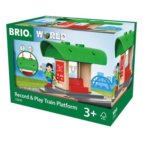 Brio Record & Play Train Platform (33840)