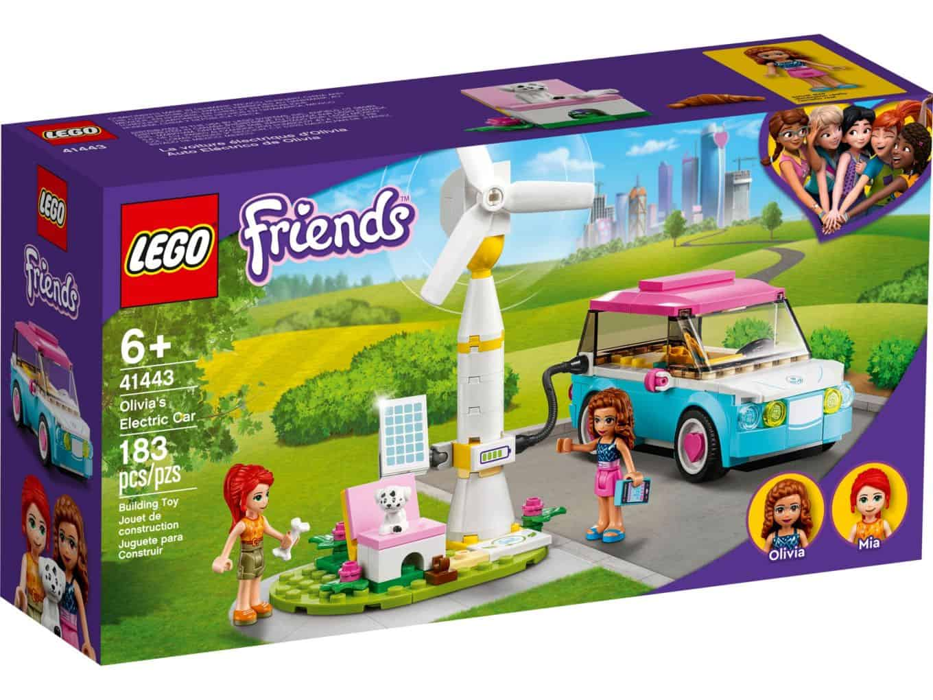 Olivia's Electric Car - Friends (41443)
