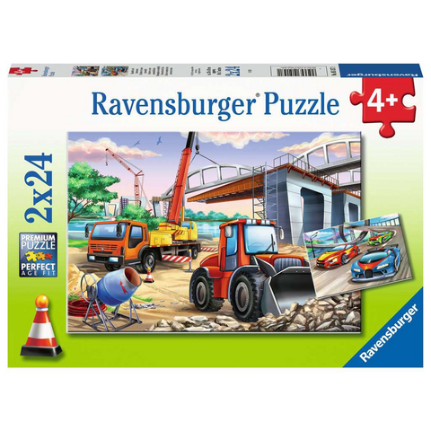 R - Construction & Cars - 2x24pc (05157)