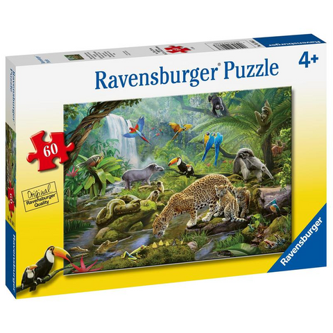 R - Rainforest Animals - 60pc (05166)
