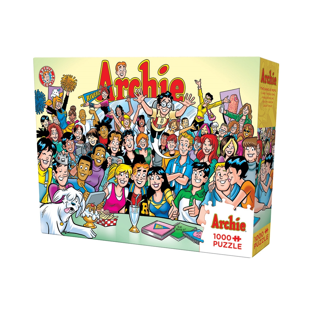 CH - Archie The Gang at Pop's (1000pc) - 1000pc (53001)