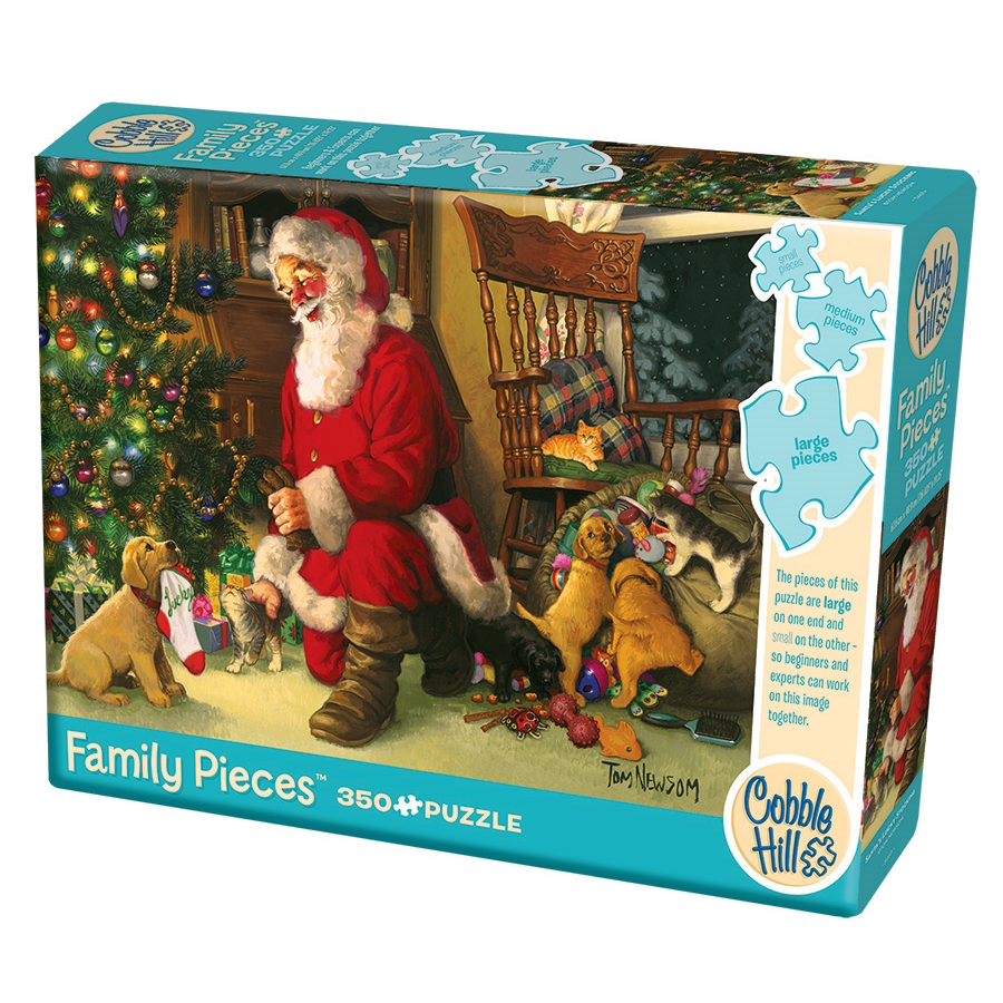 CH - Santa's Lucky Stocking (Family) - 350pc (54611)