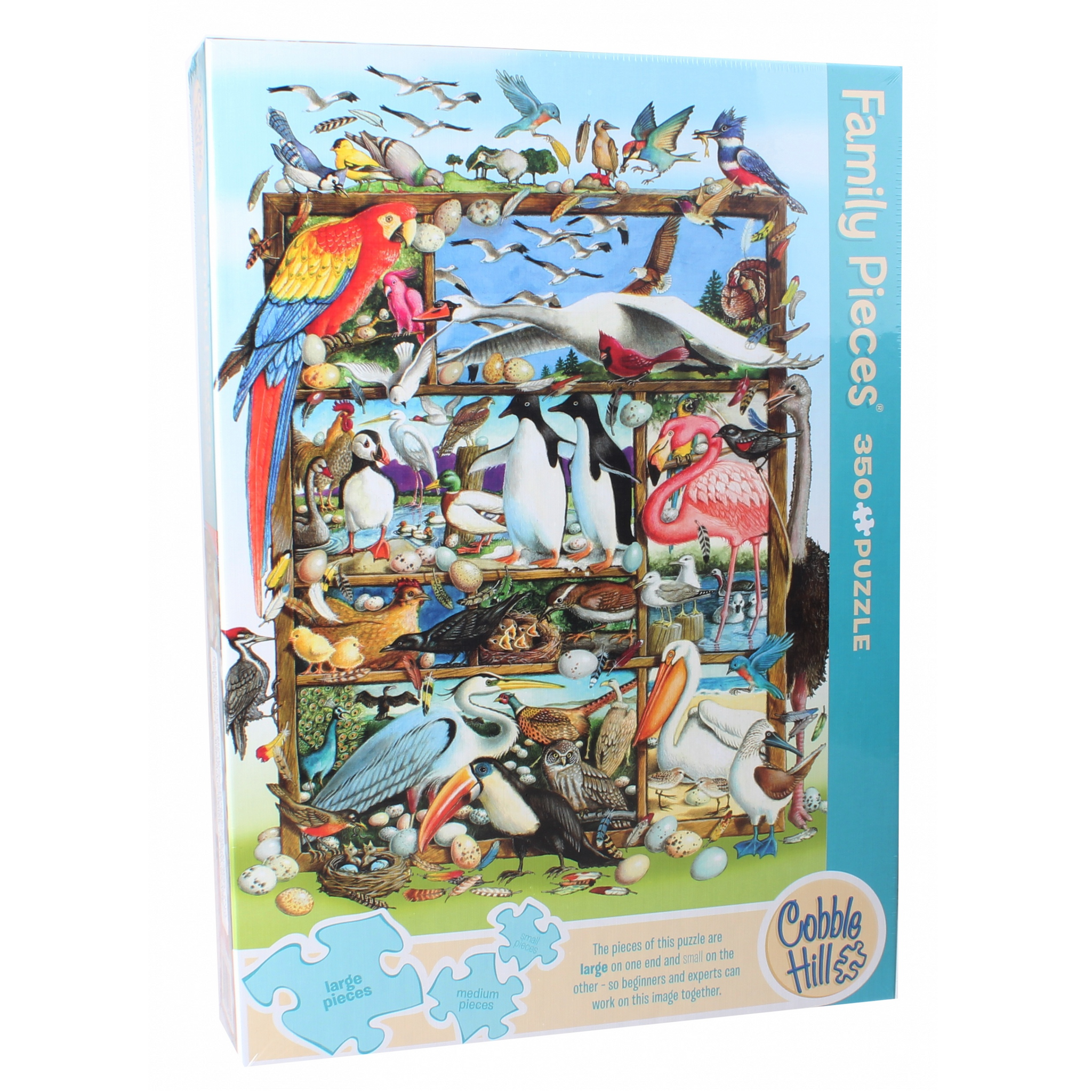 CH - Birds of the World (Family) - 350pc (54639)