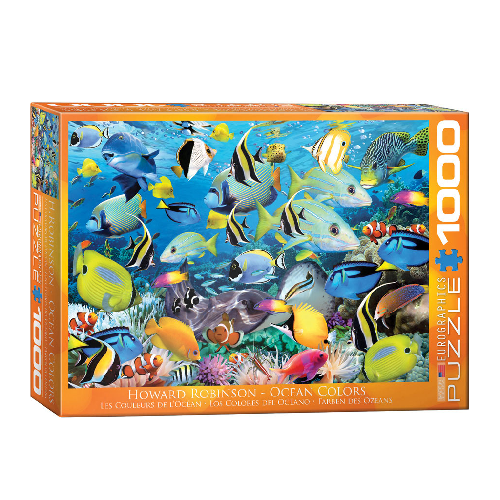E - Ocean Colors by Howard Robinson - 1000pc (6000-0625)