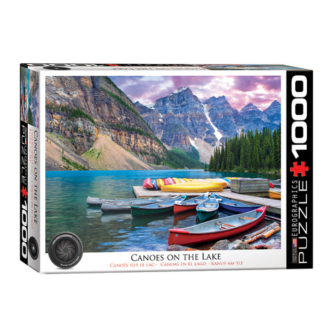 E - Canoes on the Lake - 1000pc (6000-0693)