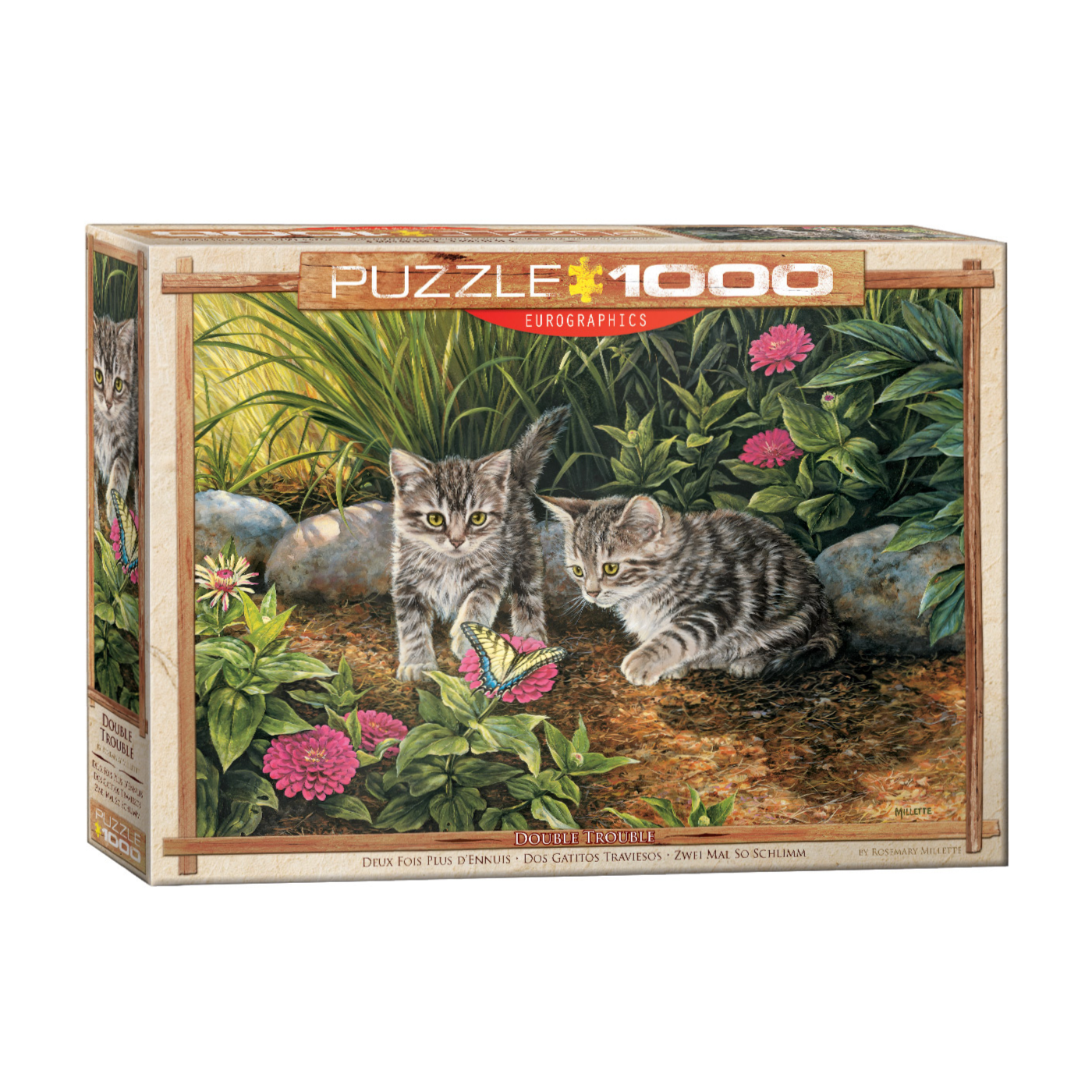 E - Double Trouble Kittens by Rosemary Millette - 1000pc (6000-0796)