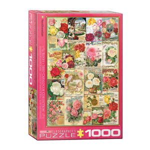 E - Roses - Seed Catalogue - 1000pc (6000-0810)