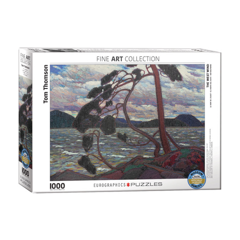 E - The West Wind - Tom Thomson - 1000pc (6000-0923)