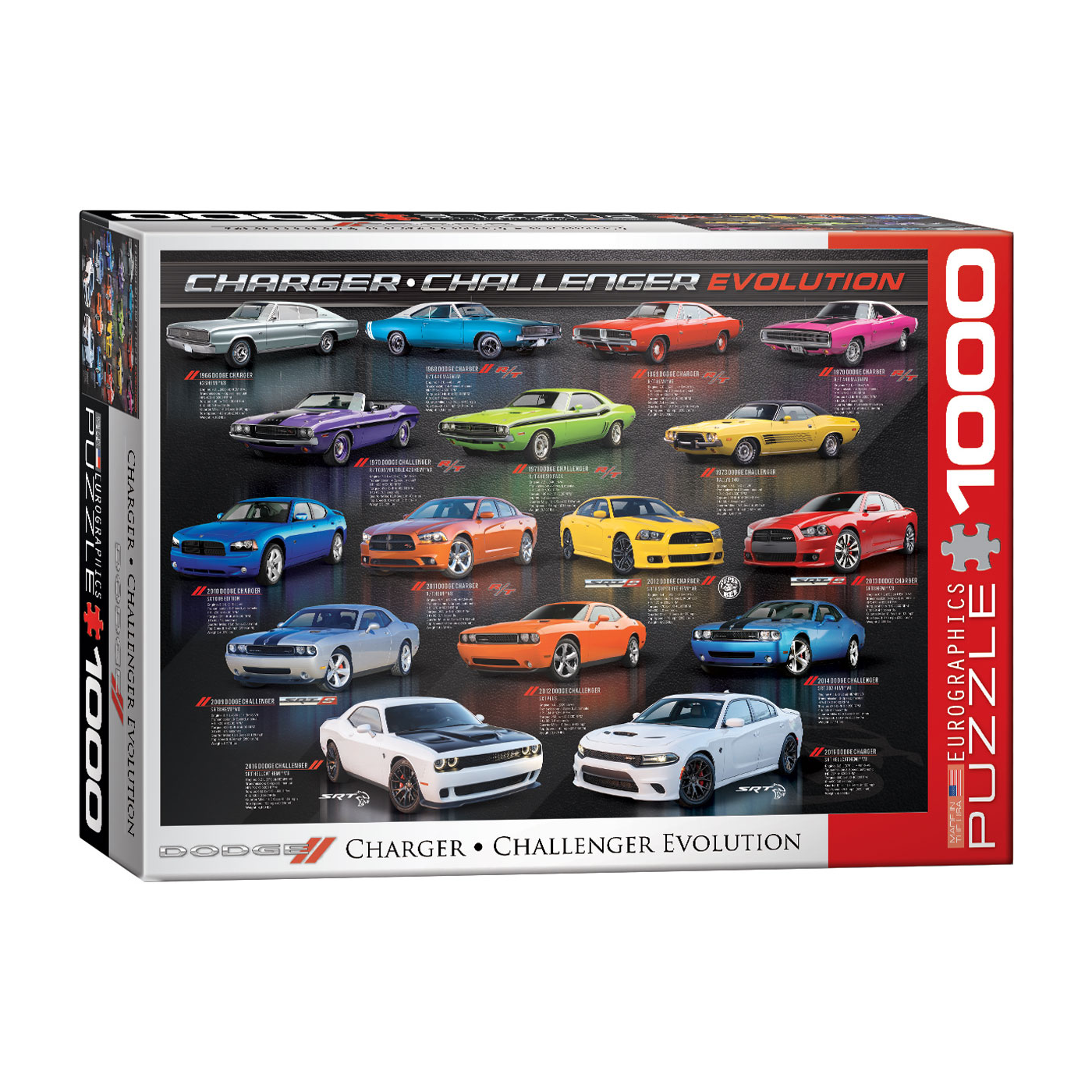 E - Dodge Charger / Challenger Evolution - 1000pc (6000-0949)