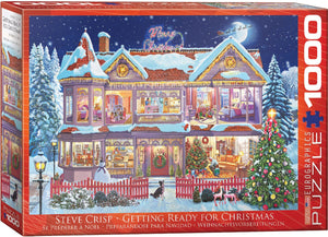 E - Getting Ready for Christmas by Steve Crisp - 1000pc (6000-0973)