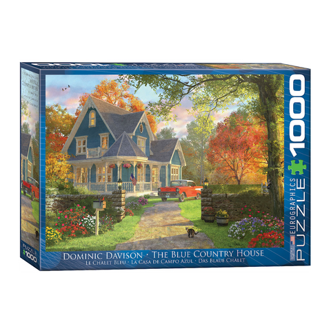 E - The Blue Country House - Dominic Davison - 1000pc (6000-0978)